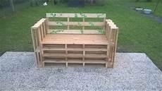 fabriquer un banc de jardin fabriquer un banc en palettes