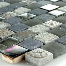 mosaik fliesen glas naturstein perlmutt effekt