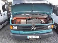 mercedes 609 d tipper 1988 motor youtube