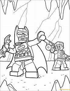 Malvorlagen Batman Lego Lego Batman And Joker Coloring Page Free Coloring Pages