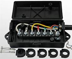 Trailer Wiring Junction Box For 7 Way Or 6 Way Trailer