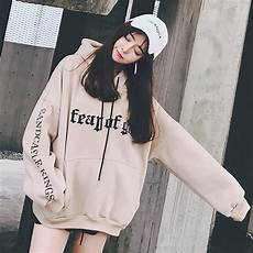 sweatshirt female korean fashion of the wave of students