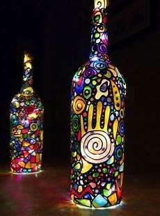 Le Aus Glasflaschen - 42 upcycling ideen f 252 r diy len aus glasflaschen