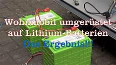 test ergebnis nach umr 252 stung auf lithium batterie beim