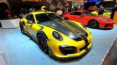 techart gt r porsche 911 techart gt r 720hp new model walkaround