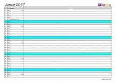 Kalender 2017 Vorlage Zum Ausdrucken Mit Kw Und Feiertagen