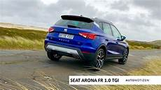 seat arona fr 1 0 tgi cng erdgas 2019 review test