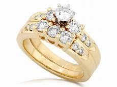 classic cheap diamond wedding ring 1 carat cut diamond gold jeenjewels