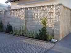 Berggold Pflaster Naturstein Gmbh Sichtschutzmauern