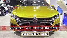2020 volkswagen arteon 2 0t exterior and interior 2019