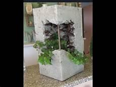 säulen selber machen anleitung beton pflanzenturm eckig