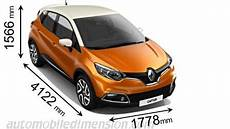 Renault Captur 2013 Dimensions Boot Space And Interior