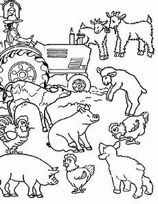 simple farm animals coloring pages 17459 farm animal farm animal activities coloring page coloring challenges for farm