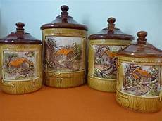 kitchen canisters set of 4 lidded features four unique