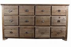 chiffonnier maison du monde meuble semainier chiffonnier grainetier bois 12 tiroirs