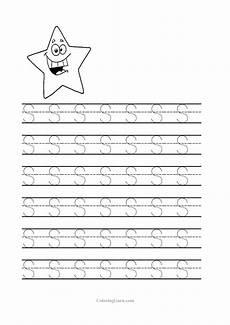 letter s worksheet for kindergarten 23528 free printable tracing letter s worksheets for preschool with images letter s worksheets