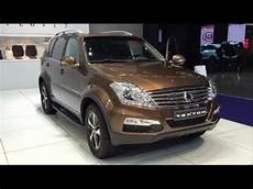 Ssangyong Rexton W Sapphire 2016 In Detail Review