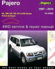 book repair manual 2002 mitsubishi pajero user handbook shop manual montero service repair book mitsubishi haynes