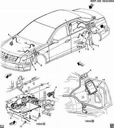 free download parts manuals 2007 cadillac dts engine control 2007 2011 cadillac sts ride control suspension module new w active steering 25879623 factory