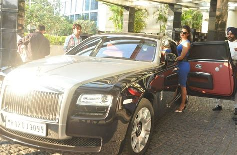 Mallika Sherawat Rolls Royce