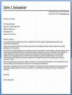 logistics cover letter exle resume downloads