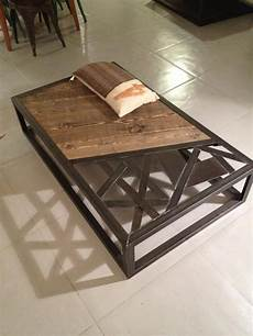 table basse metal tables basses mobilier industriel mobiliario industrial