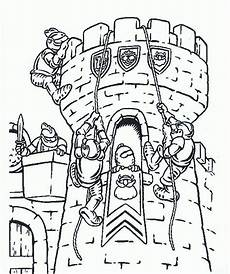 knights coloring page for an early arrival activity or