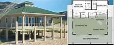 beach house plans on pilings beach house floor plans stilts pilings home building