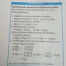 chemie stoffmengenverh 228 ltnis schule