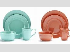 Food Network Plates Stoneware Dinnerware Porcelain Set