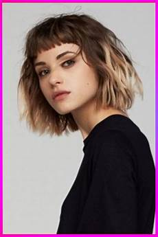 trendy short bob black to brown layered haircuts for