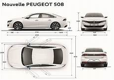 Peugeot 508 Dimensions 新旧比較 新型プジョー508のボディサイズを先代モデルと比べてみよう Motorfan モーターファン