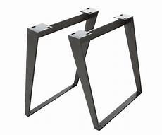 tischgestell metall schwarz schr 228 g 7 5x1 2 cm tischbeine