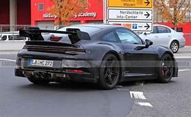 992 Gen 2021 Porsche 911 GT3 Spied With A Naturally