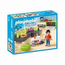 playmobil city life 5584 salon moderne playmobil achat