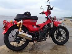 C70 Modif Touring by 4 Contoh Modifikasi Honda Sonic 150r Ridergalau