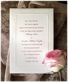 Different Wording For Wedding Invitations