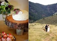 outdoor colorado mountain wedding rustic wedding chic