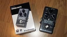 sentry noise gate sentry tc electronic sentry audiofanzine