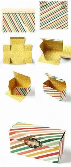 confection boite en 1001 id 233 es comment faire une bo 238 te en papier craft