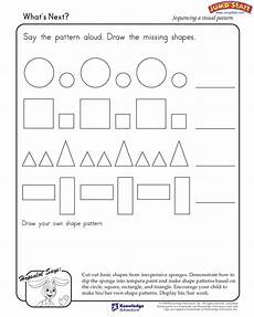 patterns shapes worksheets 241 crafts actvities and worksheets for preschool toddler and kindergarten