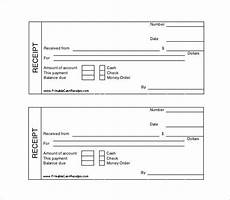 printable cash receipt template free receipt template doc for word documents in different