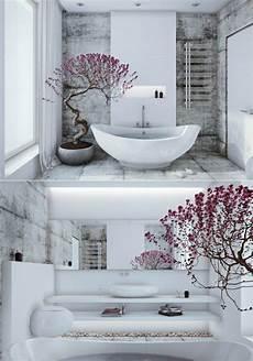 Badewanne Im Wohnzimmer - badezimmer zen stil wei 223 e freistehende badewanne bonsai