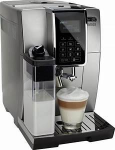 de longhi kaffeevollautomat dinamica ecam 350 75 sb mit
