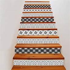 Stickers Escalier Carreaux De Ciment 3 Stickers Malin