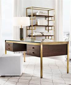 stylish home office furniture rh modern reynor desk home office furniture home office
