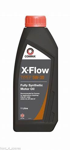 comma xflow 5w 30 fully synthetic engine xfp1l 1