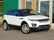 new 2019 land rover range rover evoque se 4 door in