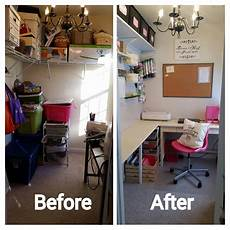 how to turn a closet into a craft room my craft room