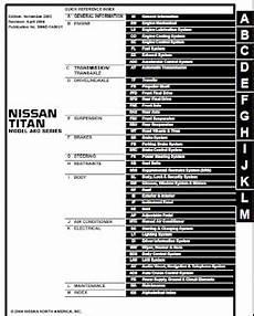 download car manuals 2004 nissan titan regenerative braking repair manuals 2004 nissan titan